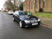 Mercedes C-Class C220 2.2 CDI SPORT EDITION....COUPE, 2008 (08 PLATE)