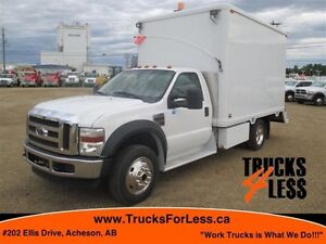 2008 ford F-550 4X4, LUBE VAN / MOBILE SHOP!!!