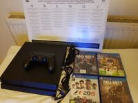 PS4 , (500GB) 1 controller , 4 games £210 ono