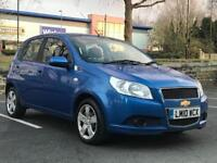 XMAS SALE!! CHEVROLET AVEO 1.2 PETROL BLUE MANUAL LONG MOT SERVICE HISTORY IDEAL FIRST CAR
