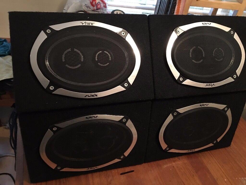 speakers in box. car stereo/amplifier/car/audio/speakers/car battery/6x9 speaker speakers in box a