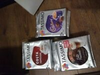Tassimo pods 3x8 pack new