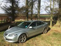 Silver Mazda 6 1.8 TS