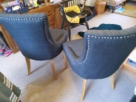 Costwold upholstered dining chairs