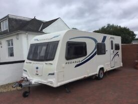 BAILEY PEGASUS II ANCONA 6 BERTH TRIPLE BUNK 2011/12 (FSH, EXCELLENT CONDITION, LOW MILEAGE)