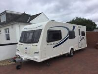 BAILEY PEGASUS II ANCONA 6 BERTH TRIPLE BUNK 2011/12 (EXCELLENT CONDITION WITH LOW MILEAGE)