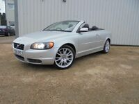 Volvo C70 T-5 convertible, full service history, excellent throughout, mot'd 2017