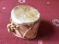 Native Aspen Log Drum - small