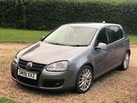 2008 VW Golf 1.4 GT TSI Grey 5 doors 6 speed manual Android Hands free