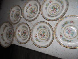 Foley Ming Rose Set of Bowls Large + 6 Small