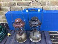 2 Tilley lamps