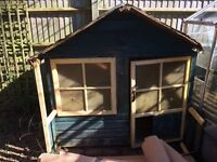 Free Wood from Wooden Outdoor Playhouse