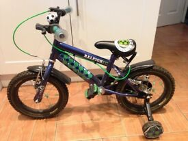 "Raleigh Striker Bike 14"" age 4+"