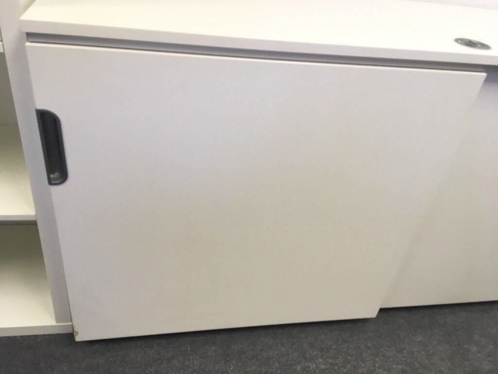 Ikea Galant Cabinet Unit With Sliding Doors In Kensington