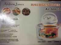 Andrew James 12L Premium Halogen Oven (AJ-606GD) for sale  Pontcanna, Cardiff