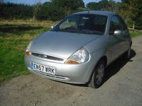 ford KA 1.3 STYLE climate 2007 low mileage new mot service history