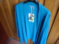 Fair Trade Aqua Cardigan---Brand New with Tags!