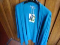 Fair Trade Aqua Cardigan---Brand New with Tags!