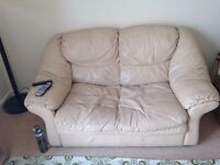 **FREE** 2 Seater Faux Leather Sofa Looking for a new home