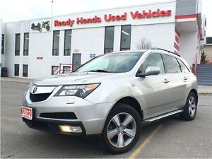 2012 Acura MDX SH-AWD - Running Boards - Leather