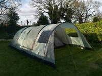 Vango Icarus 600 Family Tent, Canopy and Carpet