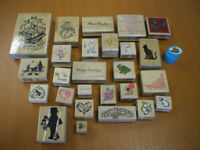 40 Retro, Vintage 1990 Wooden new stamps £20