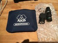 AKG C430 Microphone