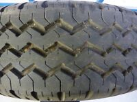 Citroen Relay Fiat Duccato Peugeot boxer van wheel