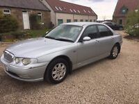 2001 Y ROVER 75 2.0 DIESEL MOT 1 YEAR DELIVERY ANY WHERE IN UK PART EX WELCOME
