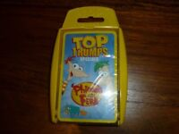 Brand New Top Trump card specials Phineas & Ferb