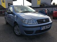 2006 * FIAT * PUNTO * 1.2 PETROL * MANUAL * LOW MILEAGE * SERVICE HISTORY * 1 LADY OWNER * WARRANTY