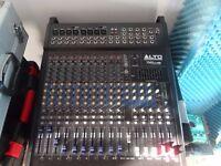 Alto TMX 12 channel, 1000 watt powered mixer.