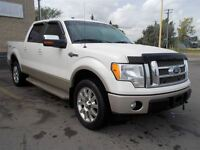 2009 Ford F-150 KING RANCH CREW CAB SHORT BOX LEATHER ROOF MINT!