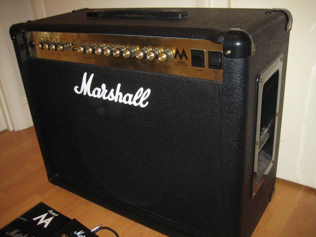 marshall 50 watt valve tube amp in grays essex gumtree. Black Bedroom Furniture Sets. Home Design Ideas
