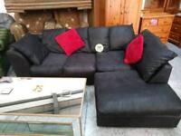 Black corner sofa for 195
