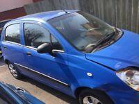 Chevrolet Matiz Blue 2009, MOT Nov 2019, £20 Tax a year, 2 lady owners, good running
