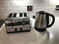 Kitchen toaster & kettle - excellent condition
