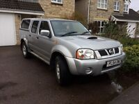 Navara 4x4. Low mileage and 1 year MOT. Clean in and out