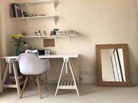 Brand new office desk / white colour / ikea