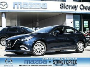 2014 Mazda MAZDA3 GS-SKY 1 OWNER,ACCID FREE,B/CAM,BT,CRUISE!