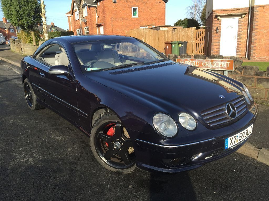 mercedes cl500 cl55 amg kit 2000 5000cc v8 automatic rare 2 door coupe very  rare