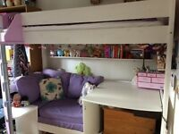 Stompa Casa 2 Loft Bed plus mattress