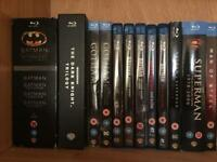 DC Comics Blu-ray collection. Batman/Superman
