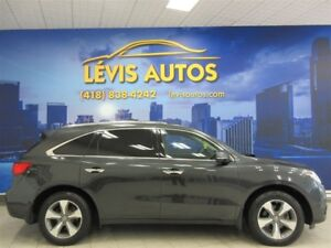 2014 Acura MDX AWD CUIR TOIT OUVRANT 7 PASSAGERS  86250 KM