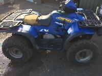 Polaris diesel quad 4x4 spare easy repair