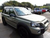 2004 REG,LAND ROVER FREELANDER 2.0 TD4 HSE,GREY LEATHER, CLEAN CAR