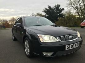 2006 Ford Mondeo 2.2 TDCi SIV Ghia 5dr 155 GH LOW MILEAGE ONE OWNER FROM NEW FULL SERVICE HISTORY