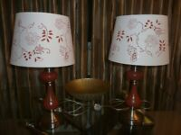 Two Matching table lamps