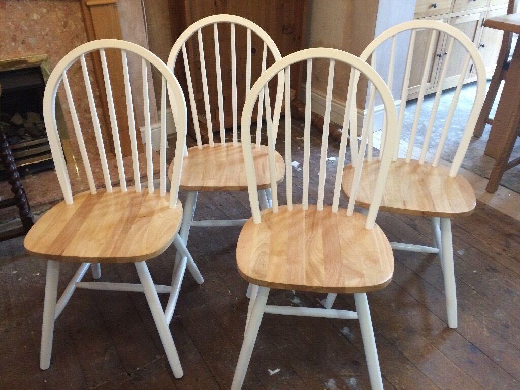 Set Of 4 Dunelm Dining Chairs In Ilkeston Derbyshire