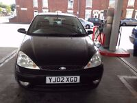 FORD FOUCS 1.6 PETROL BLACK 5 DOOR 2002